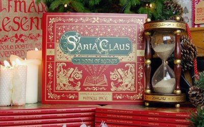 Santas book of Secrets! All profits are supporting island charities